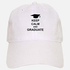 Keep Calm and Graduate Baseball Baseball Cap