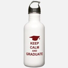 Keep Calm and Graduate Water Bottle