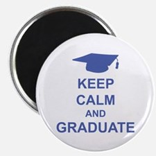 "Keep Calm and Graduate 2.25"" Magnet (100 pack)"