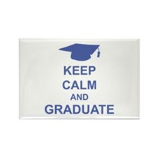 Keep Calm and Graduate Rectangle Magnet