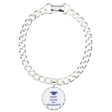 Keep Calm and Graduate Bracelet