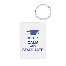 Keep Calm and Graduate Keychains