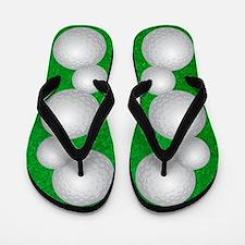 Golf Balls Flip Flops