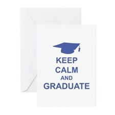 Keep Calm and Graduate Greeting Cards (Pk of 20)
