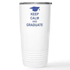Keep Calm and Graduate Travel Mug