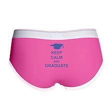Keep Calm and Graduate Women's Boy Brief