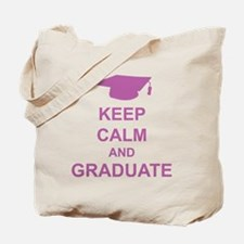 Keep Calm and Graduate Tote Bag