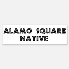 Alamo Square Native Bumper Bumper Bumper Sticker