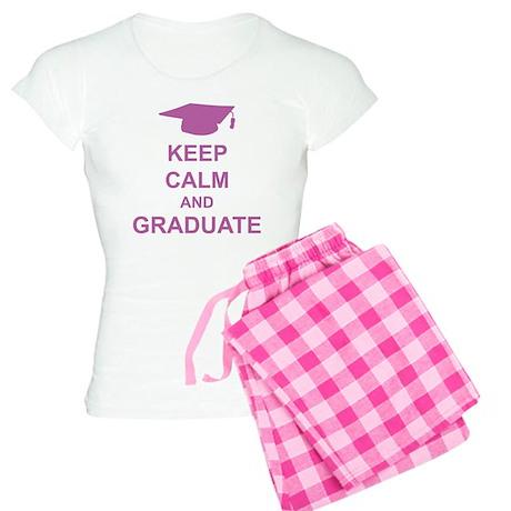 Keep Calm and Graduate Women's Light Pajamas