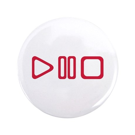 "Play pause stop 3.5"" Button"
