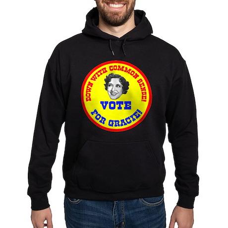 Vote for Gracie! Hoodie (dark)