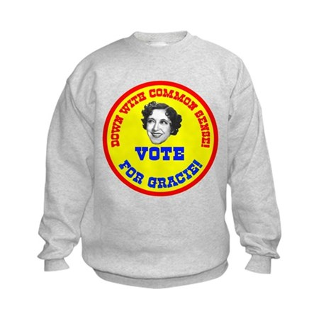 Vote for Gracie! Kids Sweatshirt