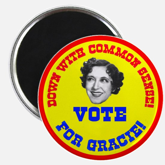 Vote for Gracie! Magnet