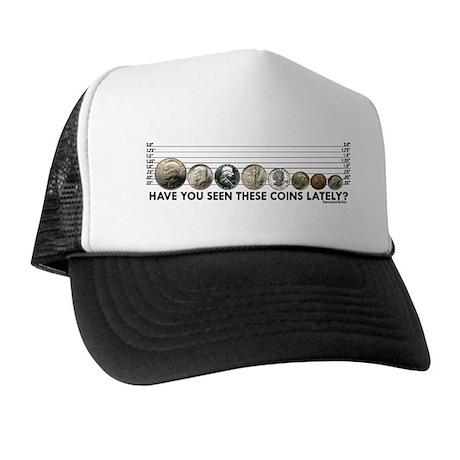 Coin Lineup Trucker Hat