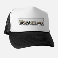 Coin Lineup Trucker Hat