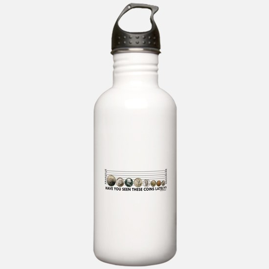 Coin Lineup Water Bottle