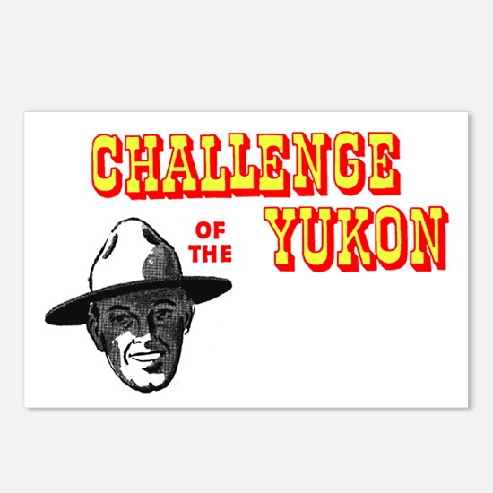 Challenge of the Yukon Postcards (Package of 8)