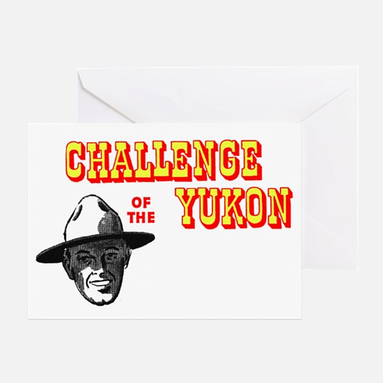 Challenge of the Yukon Greeting Card