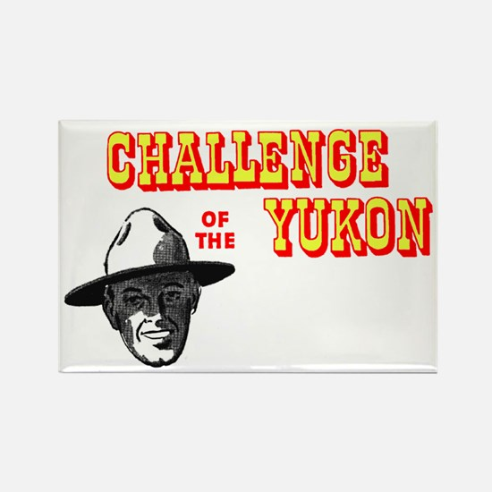 Challenge of the Yukon Rectangle Magnet (10 pack)