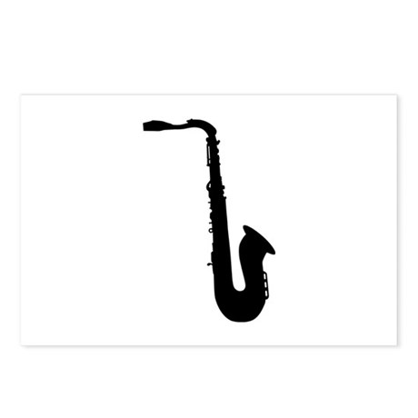 Saxophone Postcards (Package of 8)