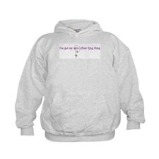 my own silver ring thing  Hoodie