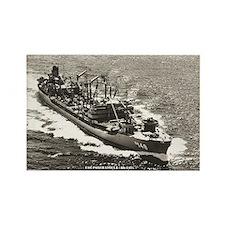 USS PONCHATOULA Rectangle Magnet