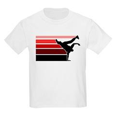 Break lines red/blk T-Shirt