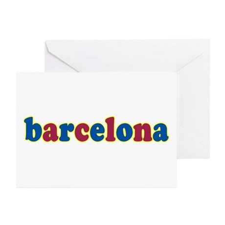 Barcelona Greeting Cards (Pk of 10)