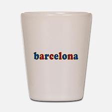 Barcelona Shot Glass