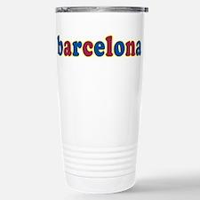 Barcelona Stainless Steel Travel Mug