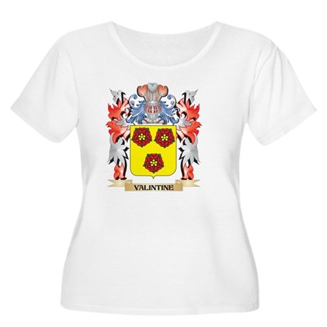 Valintine Coat of Arms - Family Plus Size T-Shirt