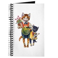 Cute Cats Bearing Gifts Journal