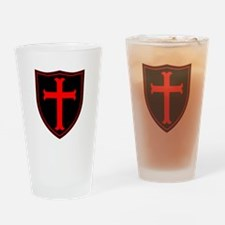 Crusaders Cross - ST-6 (1) Drinking Glass
