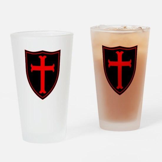 Crusaders Cross - ST-6 (1) Drinking Glass
