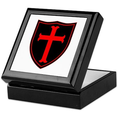 Crusaders Cross - ST-6 (1) Keepsake Box