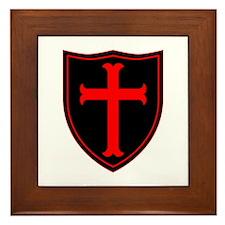 Crusaders Cross - ST-6 (1) Framed Tile