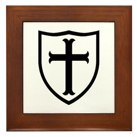 Crusaders Cross - ST-6 (2) Framed Tile