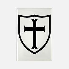 Crusaders Cross - ST-6 (2) Rectangle Magnet