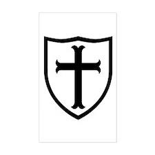 Crusaders Cross - ST-6 (2) Decal