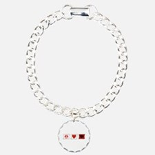 Peace, Love and Albania Bracelet