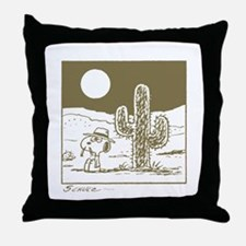 Desert Life Throw Pillow