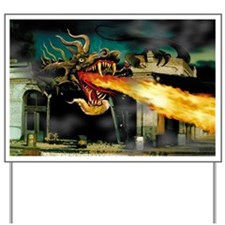 La Rue Dragon Yard Sign