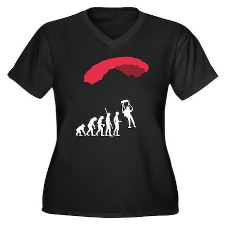 Evolution fallschirm black.png Women's Plus Size V