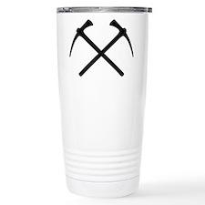Picks crossed pickax Travel Mug