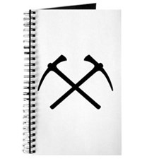 Picks crossed pickax Journal