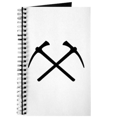 Picks crossed pickax Journal