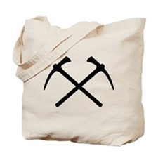 Picks crossed pickax Tote Bag
