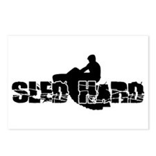 Sled Hard Postcards (Package of 8)
