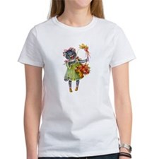 Cute Cat Bearing Gifts Tee