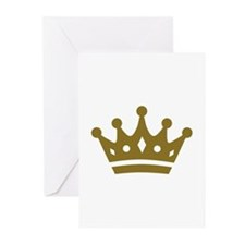 Golden crown Greeting Cards (Pk of 20)